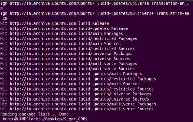 Update Ubuntu Packages