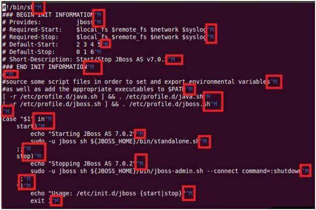 Error: JBoss 7 as a service on Ubuntu