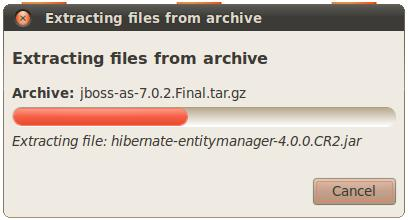 Extracting files from JBoss Archive