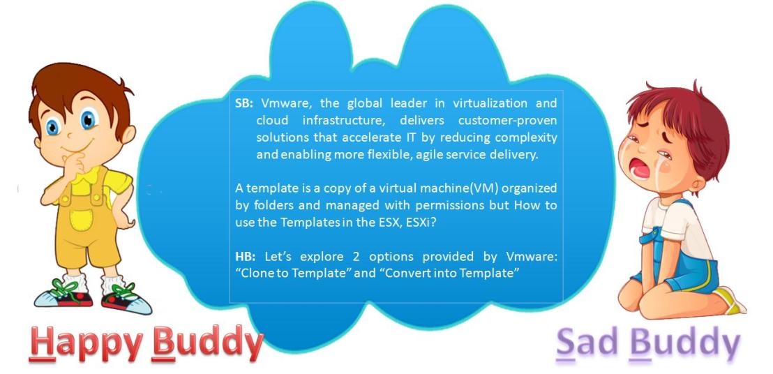 Creating server templates in vmware esxi