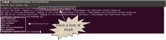 Hadoop - Start MapReduce daemons