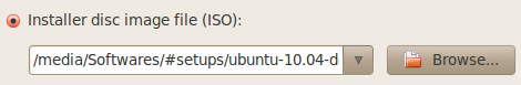 Browse Ubuntu ISO