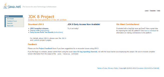2.JDK 8 Project