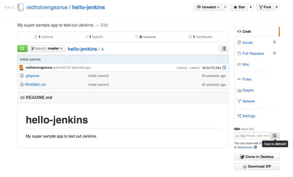 GIT Repository and Jenkins