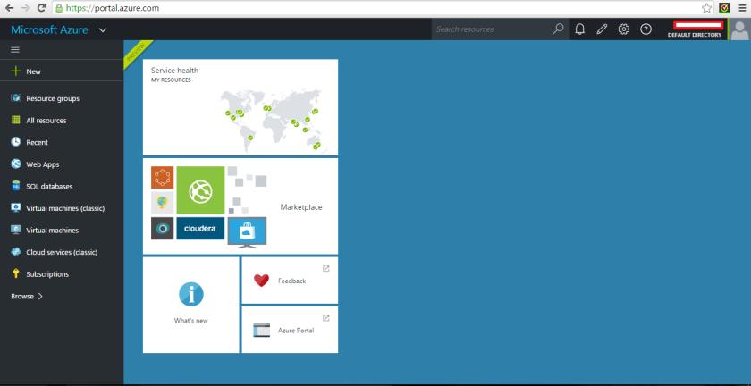 Azure Preview Portal